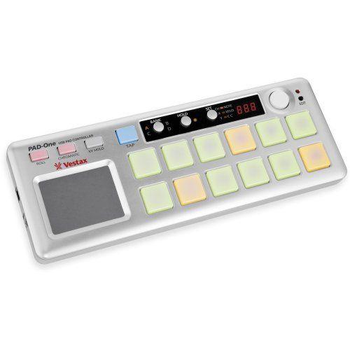 photo Wallpaper of Vestax-Vestax Pad One Midi Controller-grau