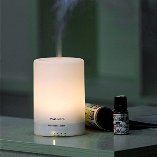 photo Wallpaper of The Body Source-100ml Difusor De Aromas Y Humidificador Ultrasónico Con 7 Ledes Que Cambian De Color.-