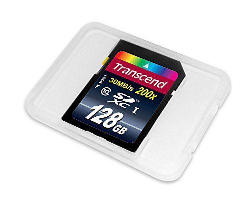 photo Wallpaper of Transcend-Transcend Extreme Speed SDXC 128GB Class 10 Speicherkarte (bis 22MB/s Lesen) [Amazon Frustfreie-Blau