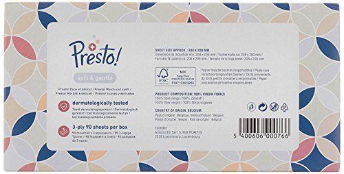 photo Wallpaper of Presto!-Marca Amazon   Presto! Pañuelos De 3 Capas  -