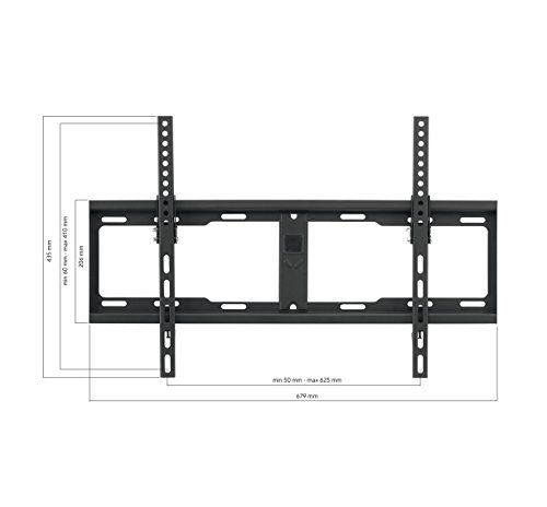 photo Wallpaper of One for All-TV Wandhalterungen Der Solid Serie Von One For All   Neigbar 15°-Schwarz