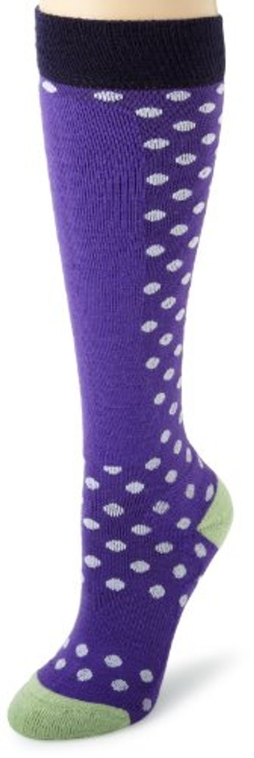 photo Wallpaper of Bula-Bula Damen Pünktchenmuster Ski Socken, Damen, Grape-grape