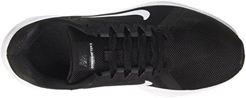 photo Wallpaper of Nike-Nike Herren Downshifter 8 Laufschuhe, Schwarz (Black/White/Anthracite 001), 46 EU-Schwarz (Black/White-anthracite 001)