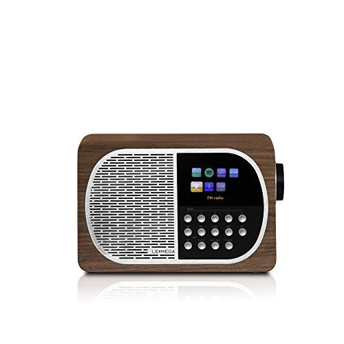 photo Wallpaper of LEMEGA-LEMEGA M2+ Wi Fi, DLNA, Spotify Verbinden, Internet Radio, DAB, DAB+, UKW Radio Mit-Nussbaum