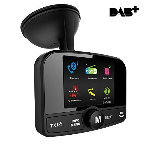 photo Wallpaper of FirstE-FirstE Car DAB+ Radio Tuner Adapter, Portable Auto DAB Digital Radio Audio Adapter-DAB008