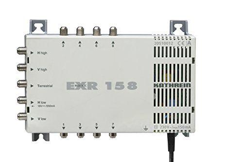 photo Wallpaper of Kathrein-Kathrein EXR 158 Satelliten ZF Verteilsystem Multischalter (1 Satellit, 8 Teilnehmeranschlüsse,-