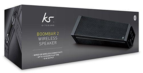 photo Wallpaper of KitSound-KitSound BoomBar 2 Universal Stereo Bluetooth Wireless Soundsystem Für Apple IOS Und-Schwarz