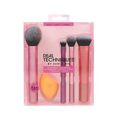 photo Wallpaper of Real Techniques-Real Techniques Everyday Essentials Make Up Pinsel Gesicht Komplett Set-