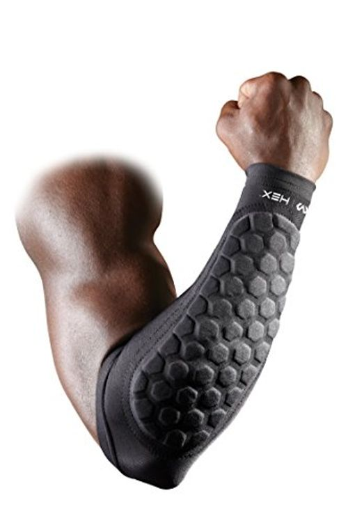 photo Wallpaper of Mc David-Mc David 651   Protector De Antebrazo Con HEX, Negro, M-negro