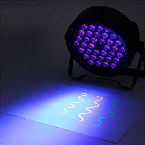 photo Wallpaper of SOLMORE-LED UV Schwarzlicht,SOLMORE 36LEDs UV Bühnenlicht PAR Licht Atmosphäre Licht Für Bar Feiern Geburtstage-Lila