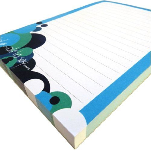photo Wallpaper of Paper Things-A5 Notizblöcke Liniert   Spots Design   100 Blatt Pro Block-