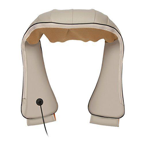 photo Wallpaper of elevavie-Elevavie Masajeador De Cuello Y Hombros Shiatsu Masajeador Cervical Con 4D Rotación Y Función-