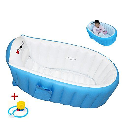 photo Wallpaper of Locisne-Locisne Piscina Infantil Verano De Bañera Hinchable Anti Resbaladiza Piscina Ducha Plegable-