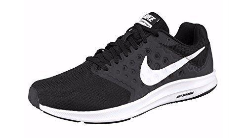 photo Wallpaper of Nike-Nike Herren Downshifter 7 Laufschuhe, Mehrfarbig (Black/White), 40 EU-Schwarz (Black/White)