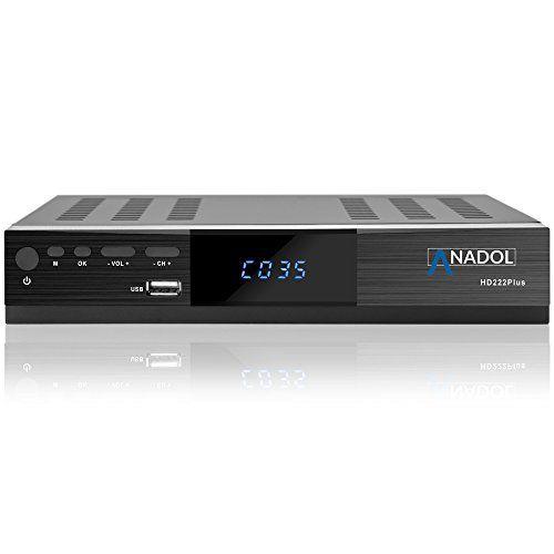 photo Wallpaper of Anadol-Anadol HD 222 Plus HD HDTV Digitaler Satelliten Receiver (Wifi, HDTV, DVB S2,-Mit WLAN mit HDMI Kabel