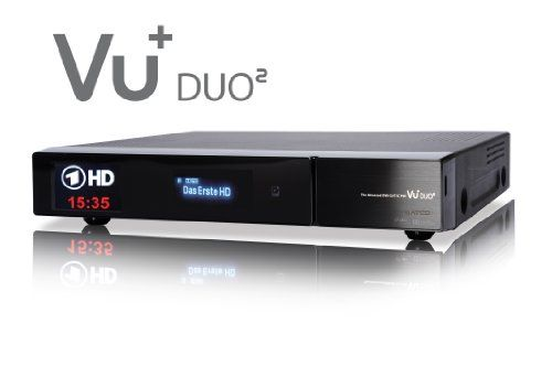 photo Wallpaper of VU+-VU+ Duo² 1x DVB S2 Dual 1x DVB C/T Tuner-Schwarz