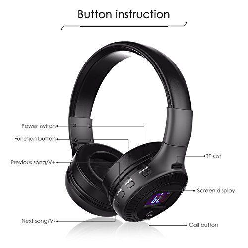 photo Wallpaper of ELEGIANT-Bluetooth Kopfhörer, ELEGIANT Multifunktion Bluetooth 4.0 Wireless Stereo Headset Wiederaufladbare-Schwarz