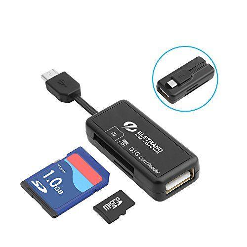 photo Wallpaper of Eletrand-Micro USB OTG Kartenleser, Eletrand 2 Slot SD/Micro SD Kartenleser (Card Reader) Und-E772