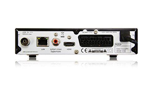 photo Wallpaper of Xoro-Xoro HRM 7619 Full HD HEVC DVB T/T2/C Kombi Receiver (HDTV, HDMI, SCART,-schwarz