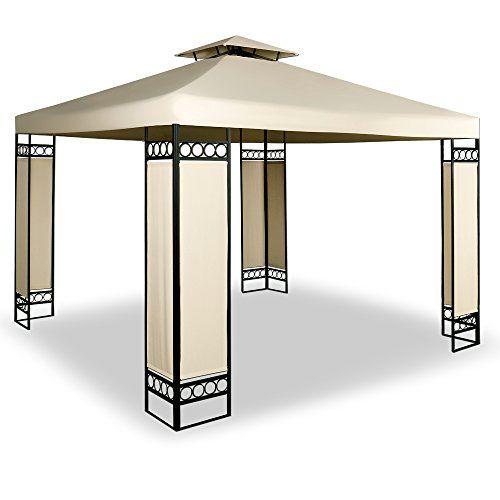 photo Wallpaper of Deuba-Deuba® Pavillon 3x3m Creme ✔ 9m² ✔ Wasserabweisend ✔ Dachhaube-Creme