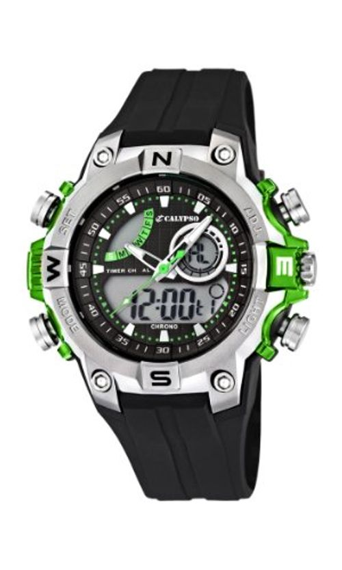 photo Wallpaper of Calypso-Calypso Watches Jungen Armbanduhr Analog   Digital Kautschuk K5586/3-mehrfarbig