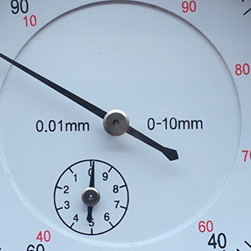 photo Wallpaper of UEETEK-UEETEK Mechanische Messuhr Sondenanzeige Zifferblatt Test Messbereich 0 10mm Dial-