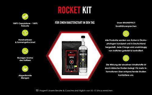 photo Wallpaper of BRAINEFFECT-BRAINEFFECT ROCKET KIT | Bulletproof Set | 500ml C8 MCT Öl &-