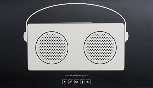 photo Wallpaper of AVWOO-Lautsprecher Avwoo Doppel Lautsprecher–tragbar, Kabellos, Bluetooth, Stereo Doppel Lautsprecher, Mit-schwarz