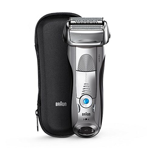 photo Wallpaper of Braun-Braun Series 7 7893s Wet&Dry Papel Aluminio Recortadora Plata   Afeitadora-Plata