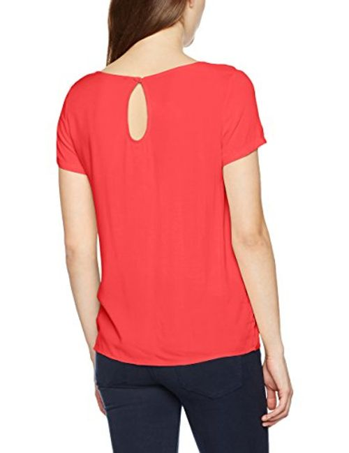photo Wallpaper of ONLY-ONLY Damen T Shirt Onlfirst SS Top Noos WVN, Rosa-Rosa (Teaberry Teaberry)