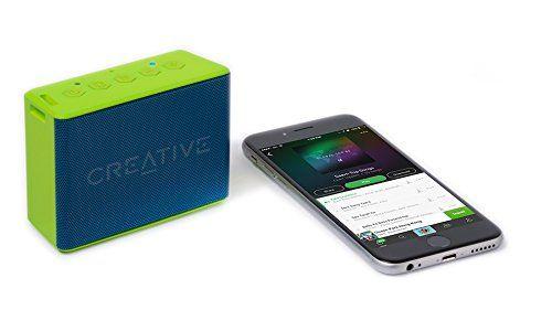 photo Wallpaper of Creative-Creative MUVO 2c   Leistungsstarker, Kompakter, Wetterfester Wireless Bluetooth Lautsprecher (für Apple IOS/Android-grün
