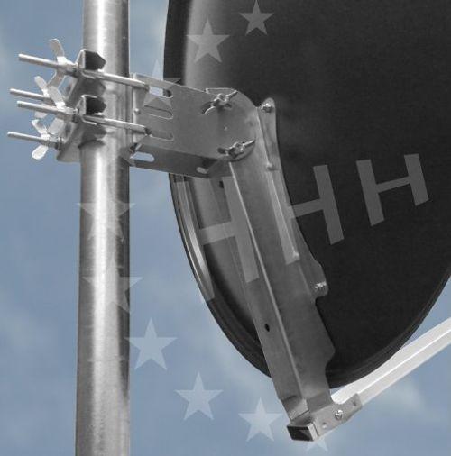 photo Wallpaper of 3H-Antennen-3H SAT 80R Stabile Präzisions  Sat Antenne 80 Cm Aluminium Ziegelrot,-ziegelrot