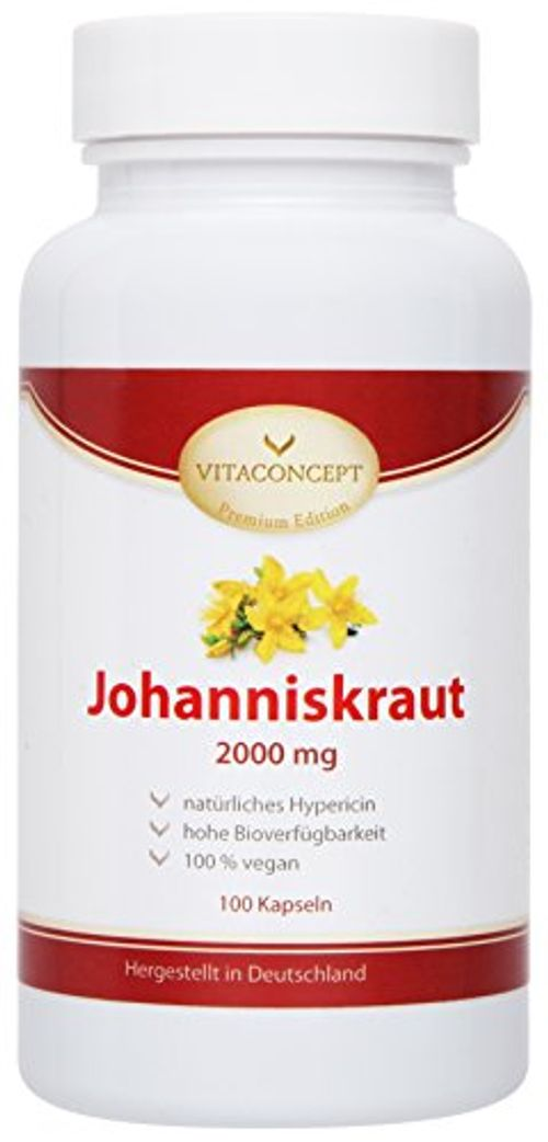 photo Wallpaper of VITACONCEPT-Johanniskraut Extrakt 2000 Mg *inclusive Natürlichem Hypericin   Das Original Nach-