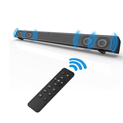 photo Wallpaper of Fozela-Fozela Soundbar, TV Sound Bar, Kabelgebundener Oder Kabelloser Bluetooth Lautsprecher-