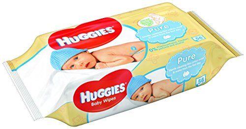 photo Wallpaper of Drynites-Huggies Pure Toallitas Para Bebé   18 Paquetes-