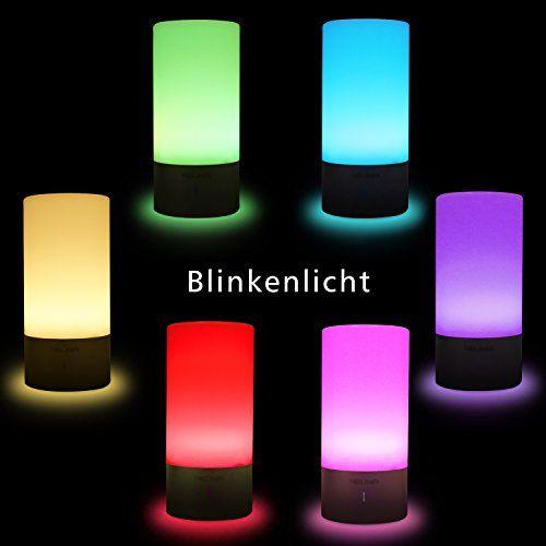 photo Wallpaper of NEUMA-NEUMA Smart Nachttischlampe, LED Schreibtischlampe, Dimmbar, Warmweiß, Kinderzimmer Nachtlicht, Touch Sensor Und 256 RGB,-