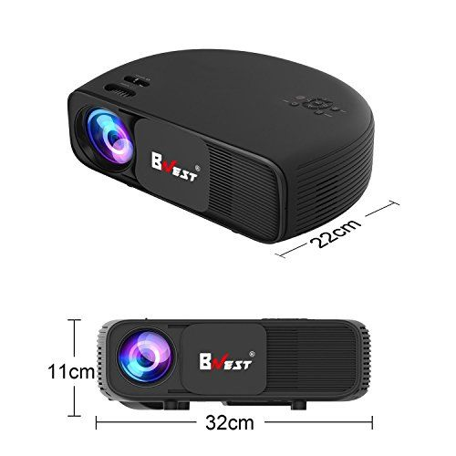 photo Wallpaper of BNEST-Video Beamer,Bnest Full HD 3200 Lumens Wireless Mini Portable Movie-