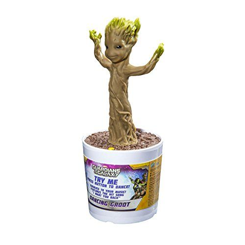 photo Wallpaper of Guardians of the Galaxy-Guardians Of The Galaxy Dancing Baby Groot Interaktive Figur Mit-Standard