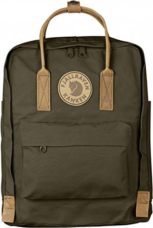 photo Wallpaper of Fjällräven-Fjällräven Unisex Rucksack Kånken No. 2, Dark Olive, 38 X 27-Dark Olive