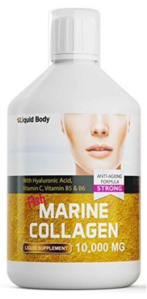 photo Wallpaper of Liquid Body-Liquid Body Premium Marina Colágeno (500ml) Alto Dosis 10.000 Mg Anti Edad Fórmula-