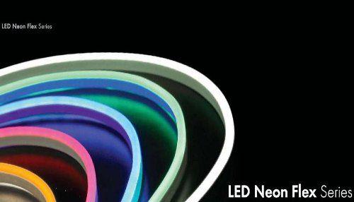 photo Wallpaper of Neo-Neon-Neo Neon LED Neon Flex Lichtband / Innen Und Außen Weiß-