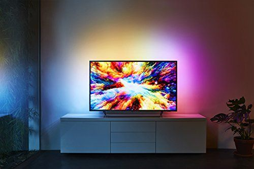 photo Wallpaper of Philips-Philips 43PUS7303/12 108 Cm (43 Zoll) LED Fernseher (Ambilight, 4K Ultra HD,-Silber