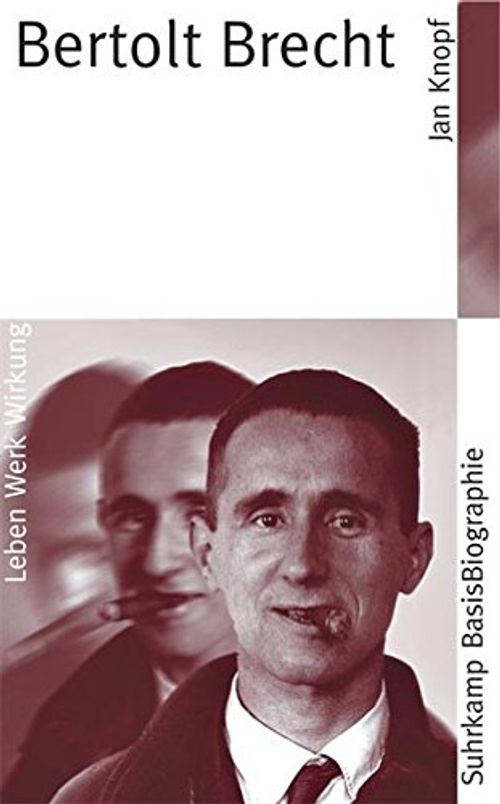 photo Wallpaper of -Bertolt Brecht (Suhrkamp BasisBiographien, Band 16)-