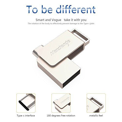 photo Wallpaper of Maxchange-Maxchange Memory Stick USB 3.0 Flash Drive 32GB Für Android Smartphone Und PC-Silber