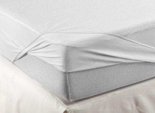 photo Wallpaper of Velfont-VELFONT – Frottee Matratzenschoner Aus Baumwolle, Wasserdicht – Verfügbar In-Weiß