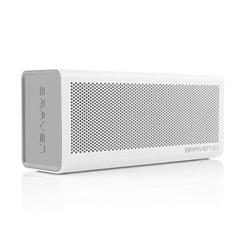 photo Wallpaper of Braven-BRAVEN 805 HD Tragbarer, Aufladbarer Bluetooth Lautsprecher Mit Integriertem Akku (4.400mAh)-weiß