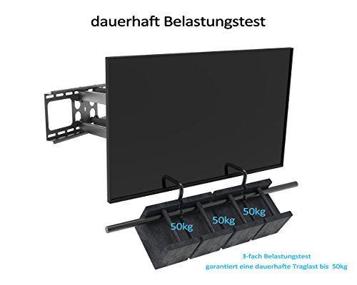 photo Wallpaper of SAVONGA-SAVONGA Fernseh Wandhalterung Schwenkbar Neigbar TV Wandhalterung Für LED LCD 4K Smart-Schwarz