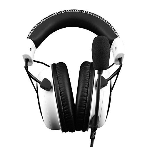 photo Wallpaper of HyperX-HyperX Cloud Gaming Headset Für PC/PS4/Mac Weiß-weiß