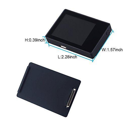 photo Wallpaper of Suptig-SupTig LCD Bildschirm 5,1cm LCD BacPac Echtzeitbilder Bildschirm Für GoPro Hero 43+ 3mit Wasserdichter-schwarz