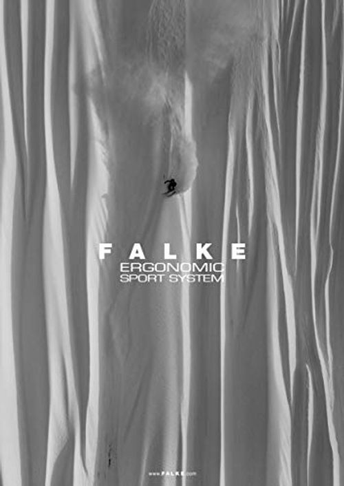 photo Wallpaper of FALKE-FALKE Damen Skistrumpf SK 1 Women, Black Grey, 39 40-Black-Grey